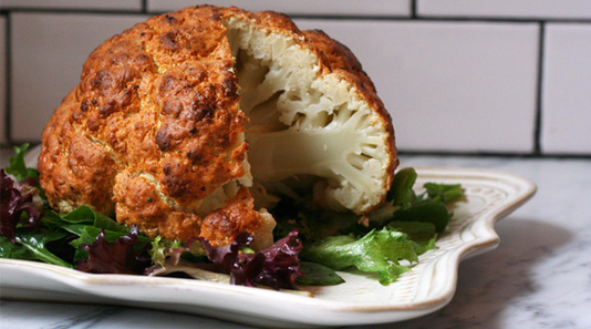 Super Bowl Roasted Cauliflower