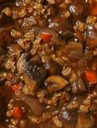 Recipies Lentil Soup with Mushrooms and Ham