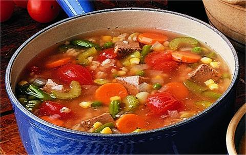 Vegetable Soup with V8